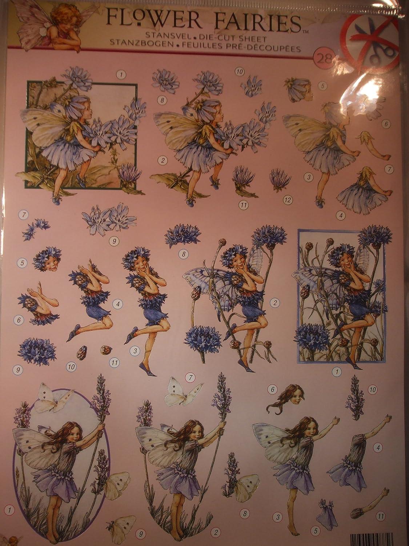 Flower Fairies Die Cut Decoupage Sheet A4 STAPEASYFF28