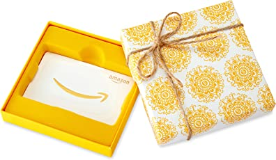 Amazon.com Gift Card in a Medallion Box
