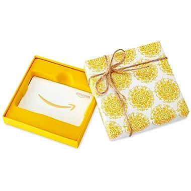 Amazon.com Gift Card in a Medallion Box