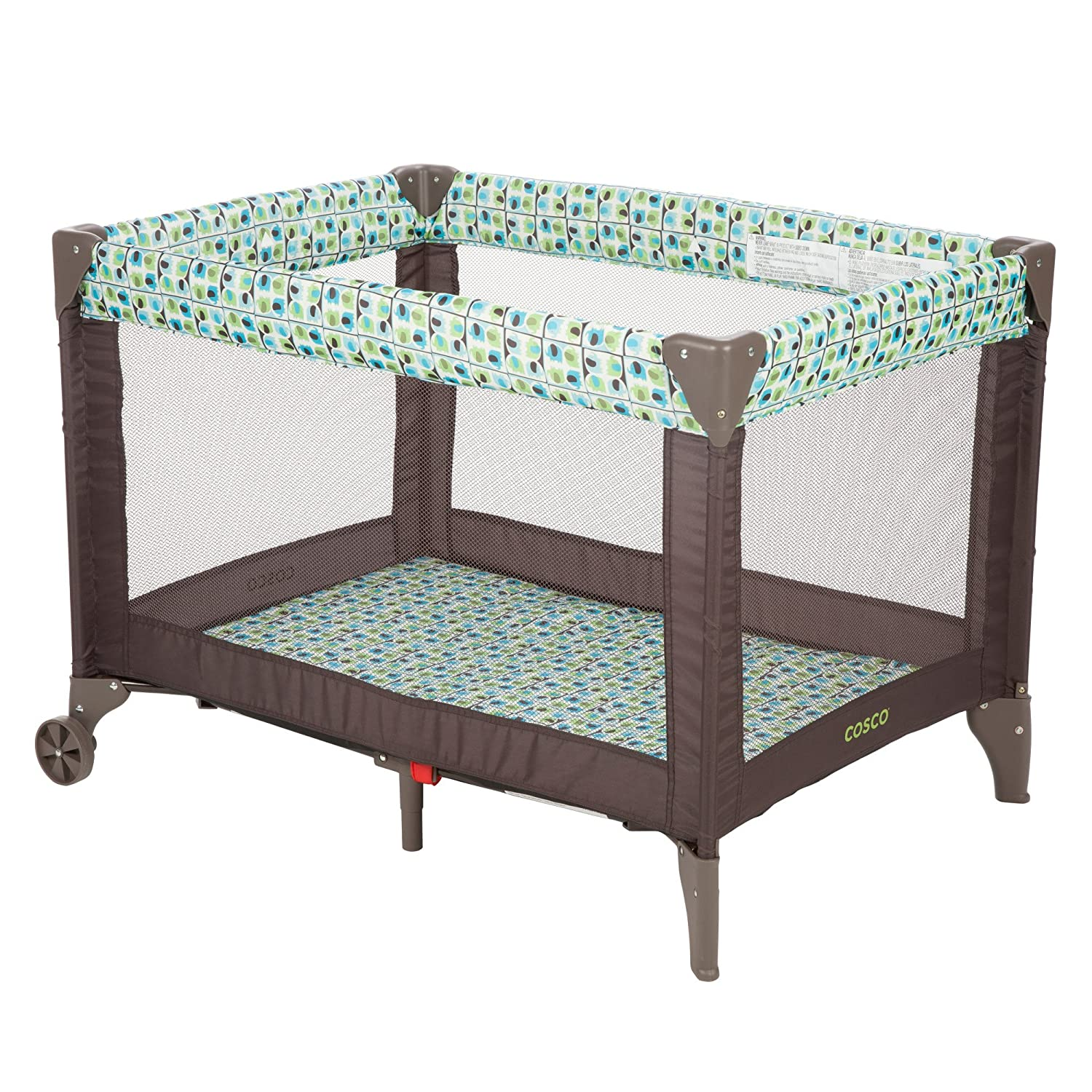 Cosco Funsport Play Yard (Elephant Squares) Cosco Inc PY363DFK