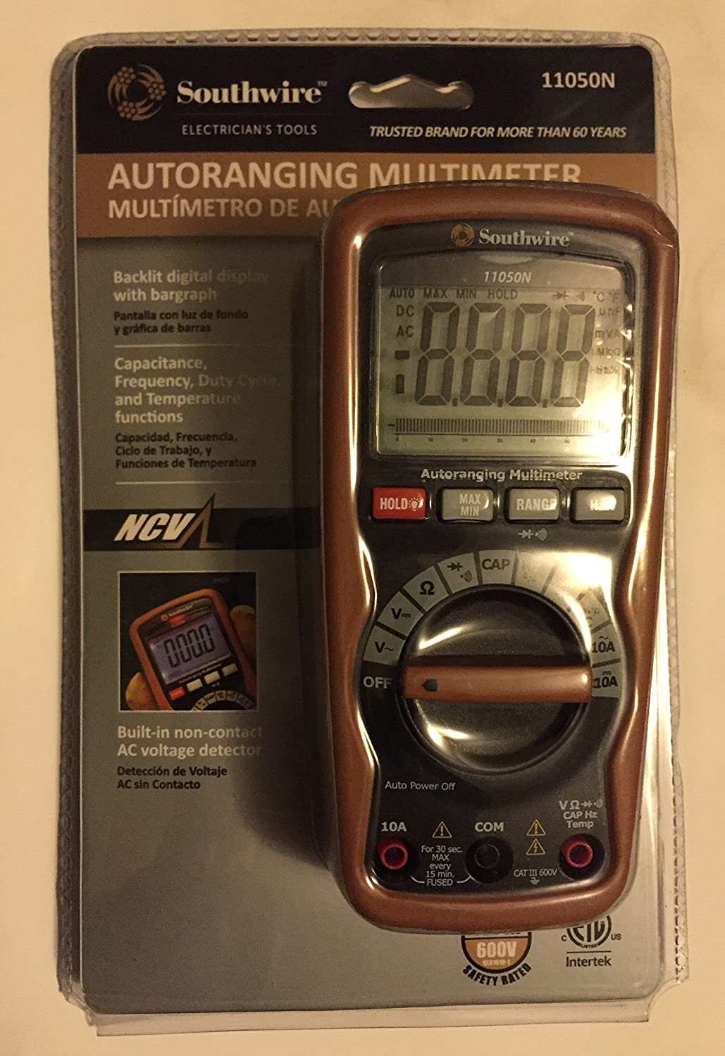 Southwire 11050N Autoranging Multimeter: Amazon.com: Industrial & Scientific