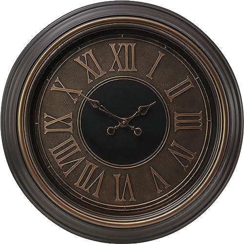 kieragrace Traditional wall-clocks, Copper Gold
