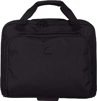 DELSEY PARVIS PLUS Mallette ordinateur /à roulettes noir 11 litres