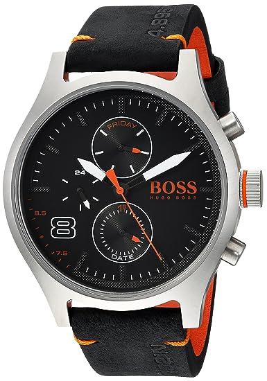 32b5cb4c6317 HUGO BOSS Reloj casual de cuarzo para hombre