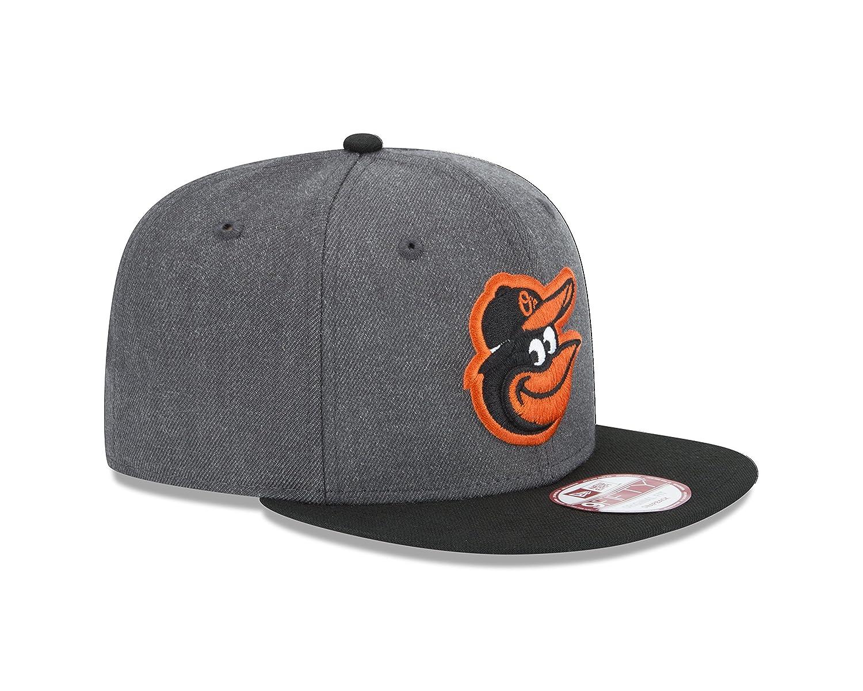 Amazon.com   New Era MLB Baltimore Orioles Heather 9Fifty Snapback ... ff7898a6d777