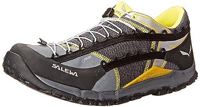 Salewa Men's MS Speed Ascent GTX Hiking Shoe, Black/Yellow, ...