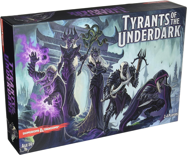 Dungeons & Dragons - Juego de Mesa Tyrants of The Underdark (Reinos Olvidados). Idioma español no garantizado: Amazon.es: Juguetes y juegos