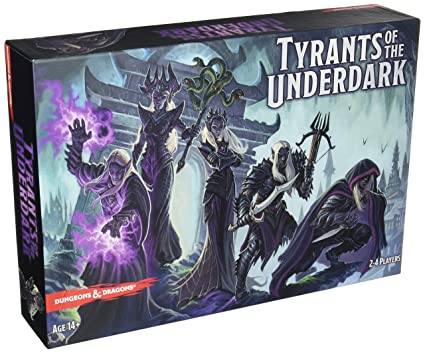 Amazoncom Dd Tyrants Of The Underdark Board Game Toys Games