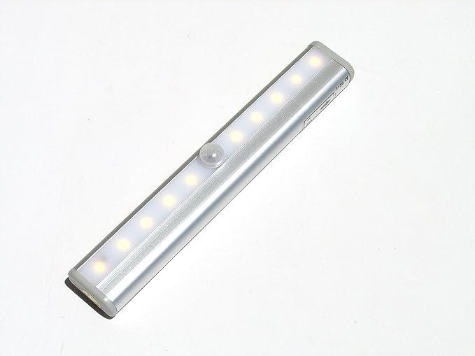 Stanlite Led Light Bar Motion Sensor Detector Night Light Closet