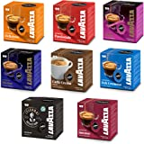 1 Box (16 pods) of each LAVAZZA A MODO MIO Blend. 128 Coffee Capsules total