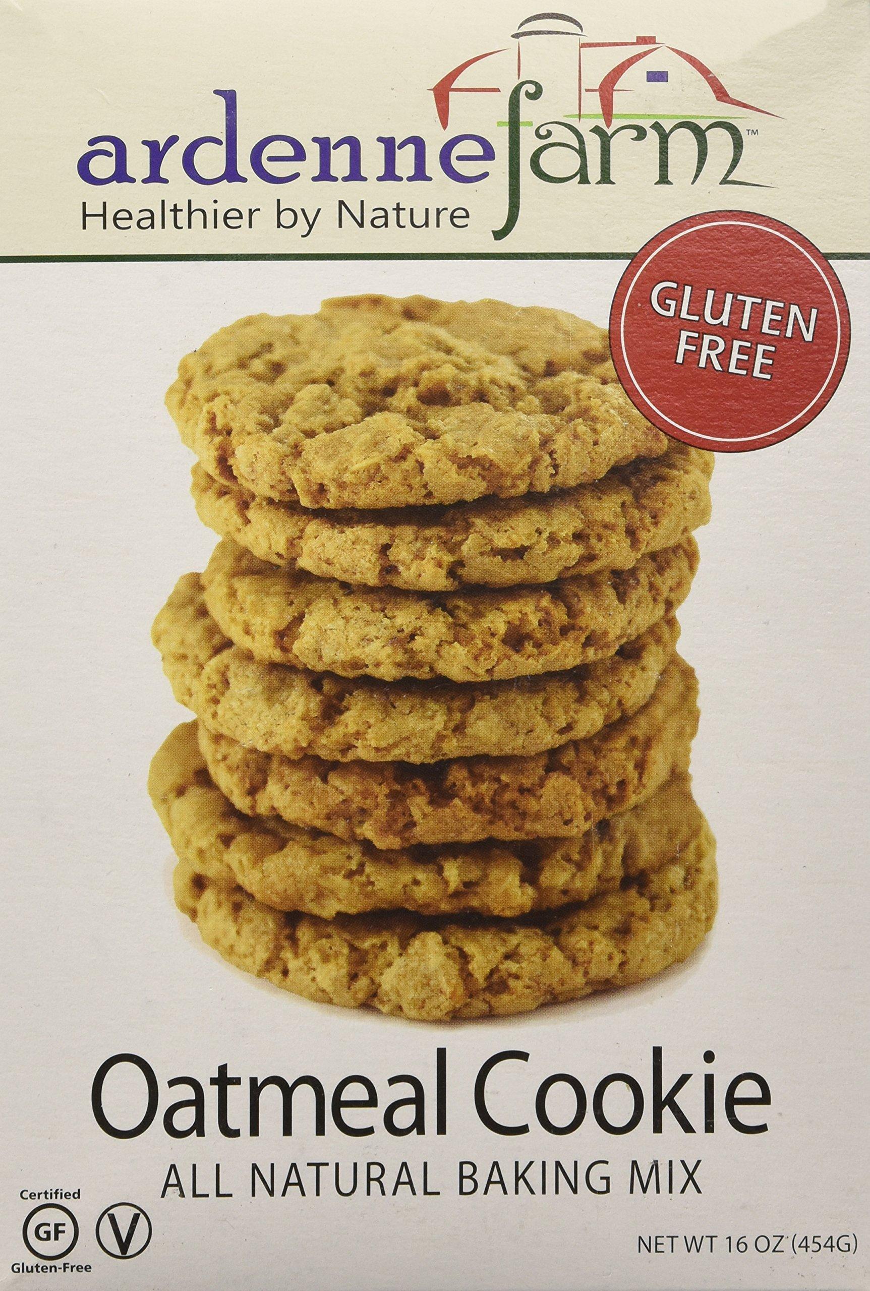 Ardenne Farm Gluten Free Oatmeal Cookie Mix, 16 Ounce