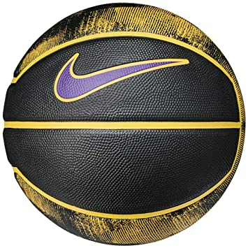 d5e4bdabe545 Pallone Da Basket Nike Lebron James 07 Playground 4P Pallacanestro NBA  Lakers  Amazon.it  Sport e tempo libero