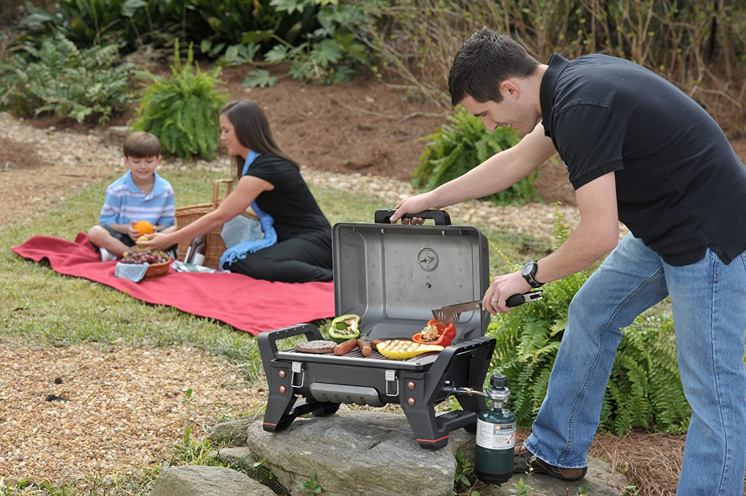 Amazon.com : Char Broil Grill2Go X200 Portable TRU Infrared Liquid Propane  Gas Grill : Grill Parts : Garden U0026 Outdoor