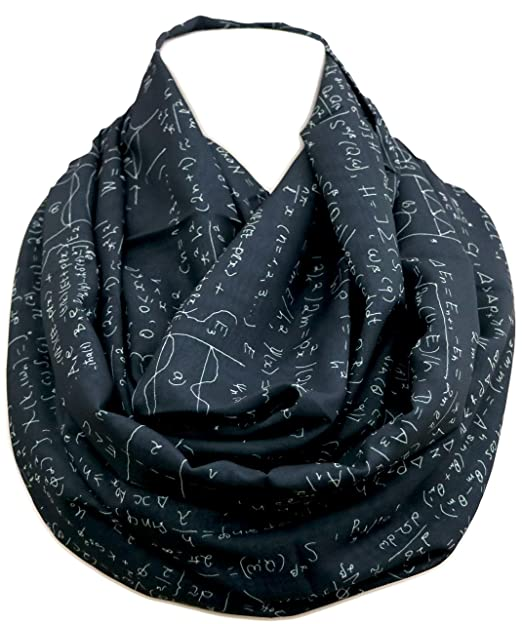 Mathematics Infinity Scarf For Engineers Teachers Nerds Algebra