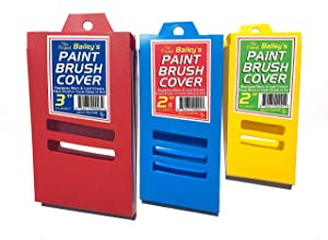 Paint Brush Covers (3 Covers, Assorted Three Pack)