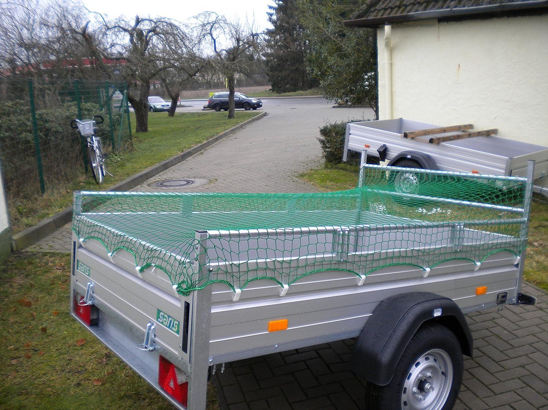 Anh/ängernetz Abdecknetz Container 5 x 3 m knotenlos 500 x 300 cm
