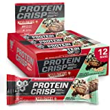 BSN Protein Bars - Protein Crisp Bar by Syntha-6, Whey Protein, 20g of Protein, Gluten Free, Low Sugar, Cold Stone Creamery M