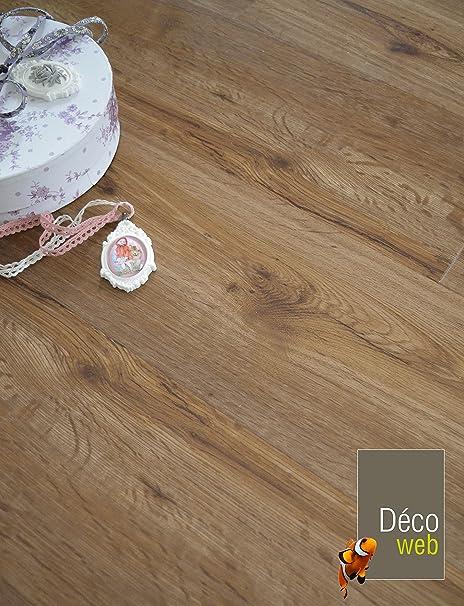 Lama Pavimento Pvc - Click 5 g - Rovere medio: Amazon.it: Fai da te