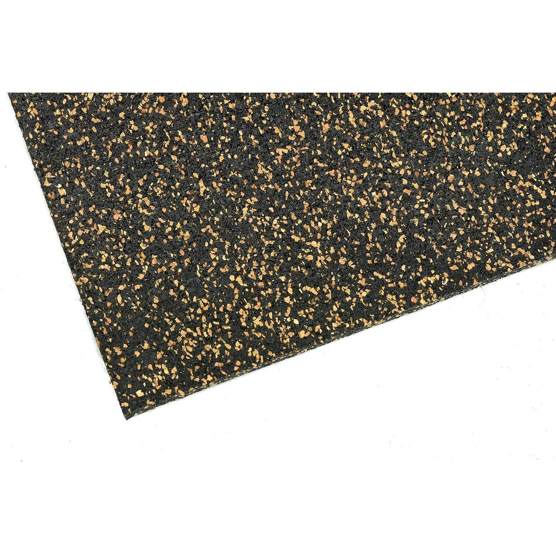 Corcho de goma aislante 20 m/² 3 mm de grosor base resistente acerto24