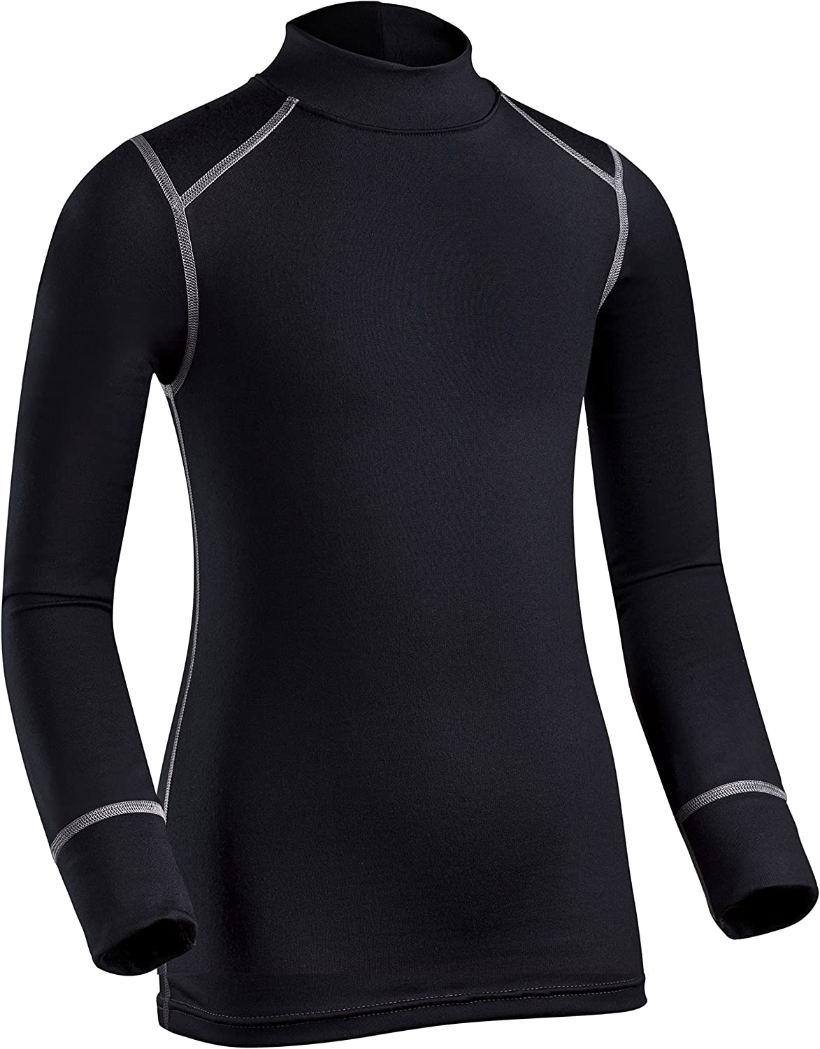 ColdPruf Youth Quest Performance Base Layer Long Sleeve Mock Neck Top