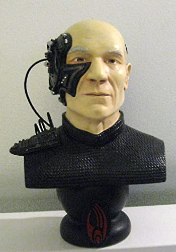 Locutus of Borg Legends in 3-d Bust Sculpture.