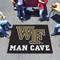 NCAA Wake Forest University Man Cave Tailgater Rug 60-in x 72-in