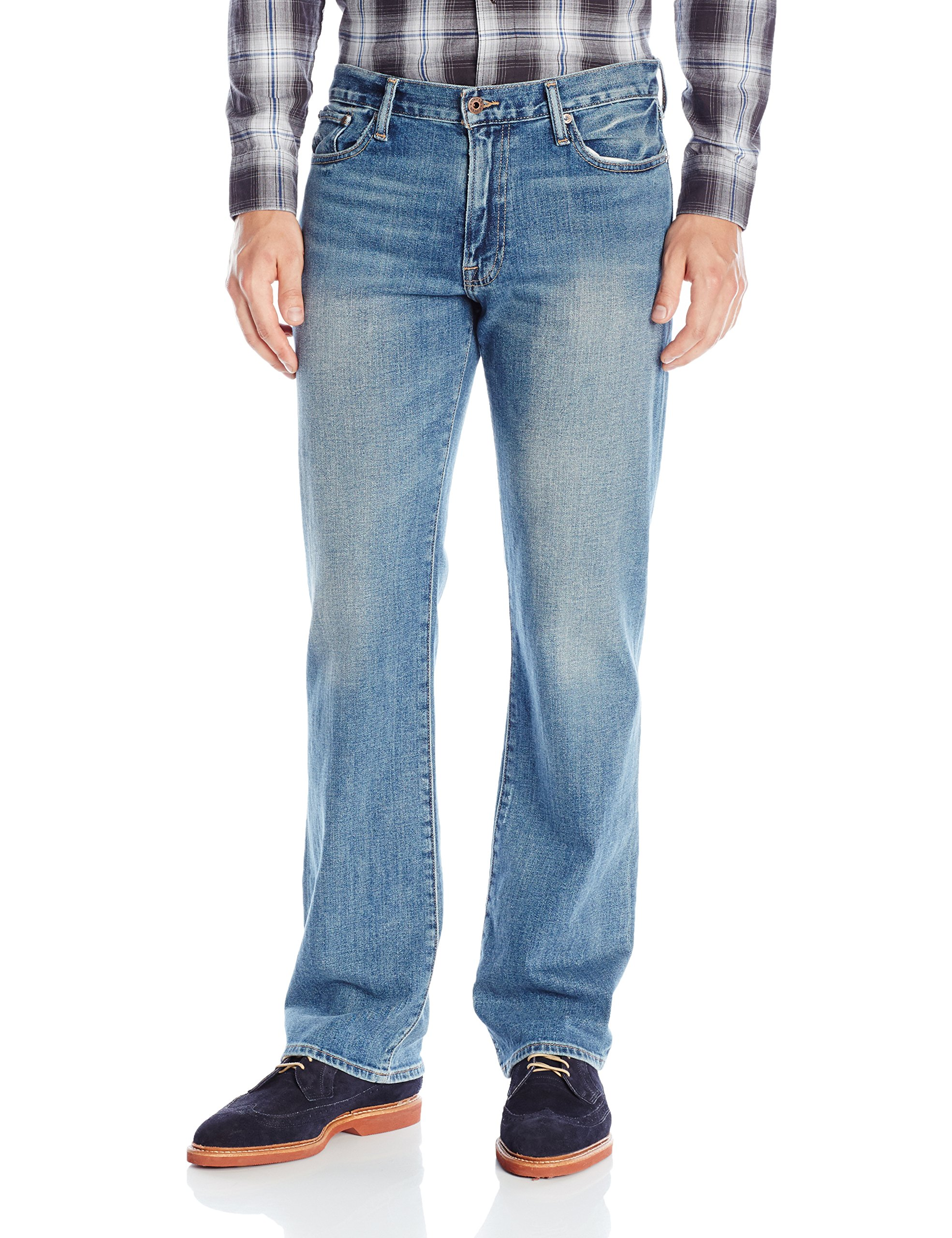 Lucky Brand Men's 361 Vintage Straight Jean, Radio Beach 32x32