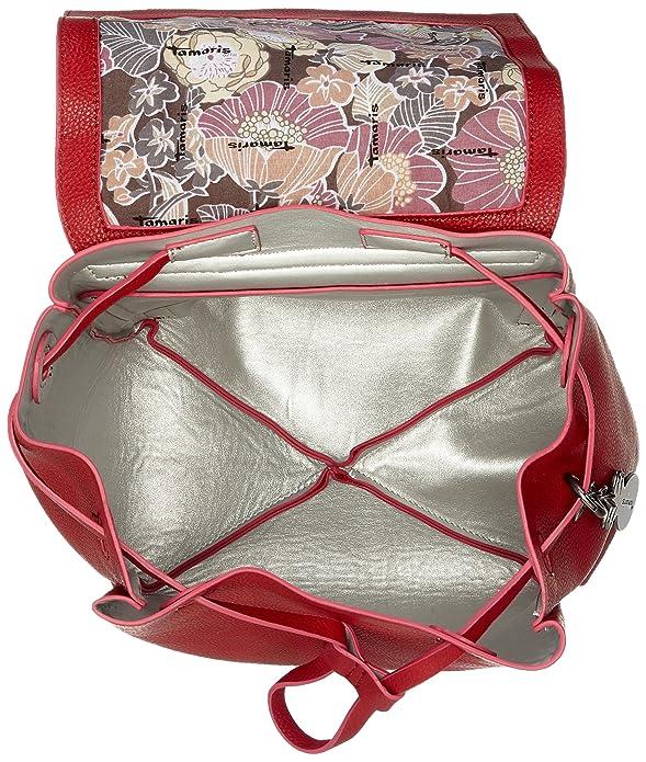 A 14x31x23 Cm Borse b Ht Lorella X Backpack Tamaris red Donna Rot Zainetto q8tFWZw