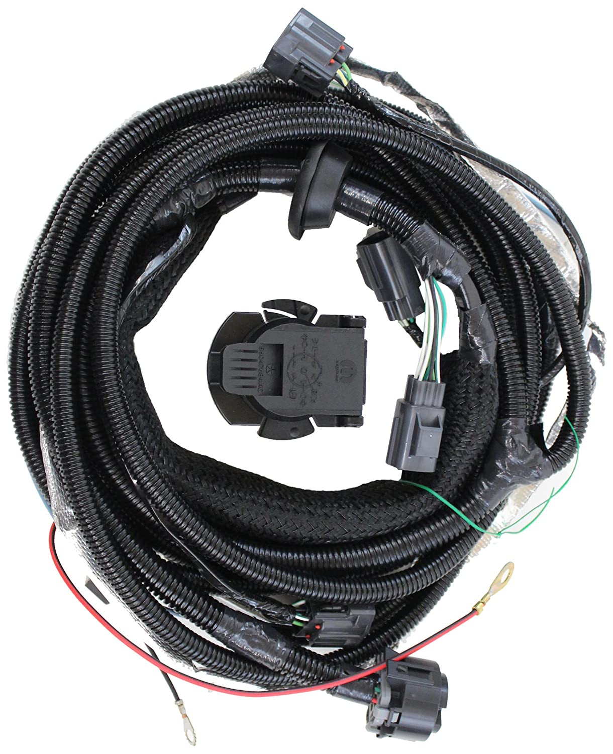 918XganRXOL._SL1500_ amazon com genuine jeep accessories 82210642ad trailer tow wiring Dodge Trailer Wiring Colors at gsmportal.co
