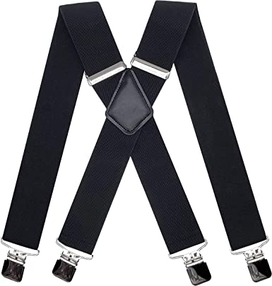 Mens Adjustable Braces Clip on Suspender Womens Hen Party Fancy Dress Accessory