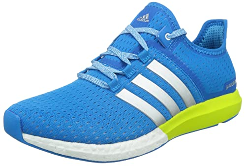 bc8674a212738f Adidas Men s CC Gazelle Boost M BLUE WHITE GREEN Blue   White   Green 9.5  D(M) US  Amazon.in  Shoes   Handbags