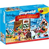 Playmobil 9264 Advent Calendar 'Santa's Workshop' with Electronic Lantern