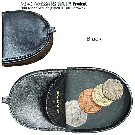 Auténtica piel tipo cartera para monedas Monedero en forma ...