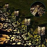 Waterproof Outdoor Solar Lights, Solar Powered Garden Lights, Solar Lights Bright Pathway, Auto on/Off Solar Light, High…