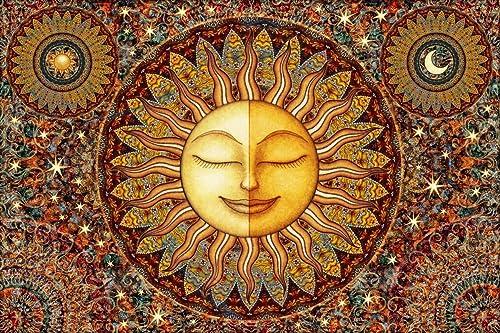Sun Sleeping Tapestry by Dan Morris, 26×40