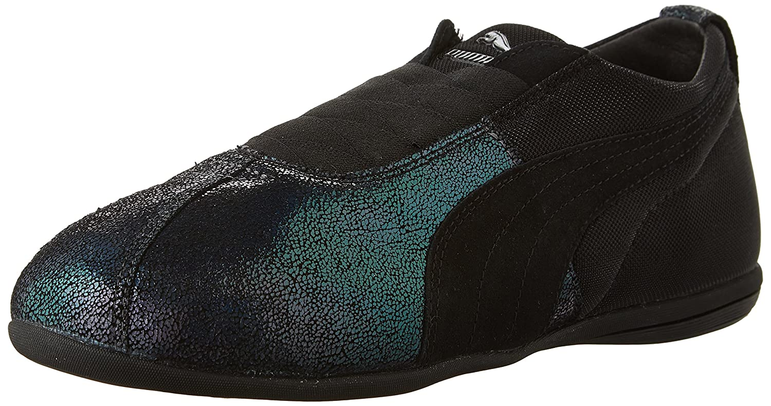 PUMA Women's Eskiva Low Deep Summer Boxing Shoes Black 11 M US