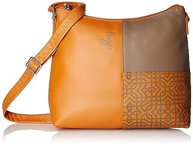 5b6f9f510849 Baggit Women s Sling Bag (Orange)  Amazon.in  Shoes   Handbags
