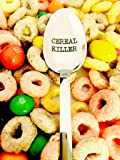 Cereal Killer Spoon by Weenca-Engraved Spoon-Perfect Cereal Lover Gift-Cereal Spoon Best Teenager Gifts On The Market