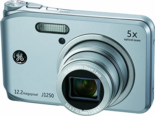 Ge General Electric J1250 Digitalkamera 2 7 Zoll Silber Kamera