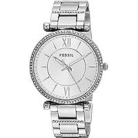 FOSSIL Women's ES4341 Year-Round Analog-Digital Quartz Silver Band Watch