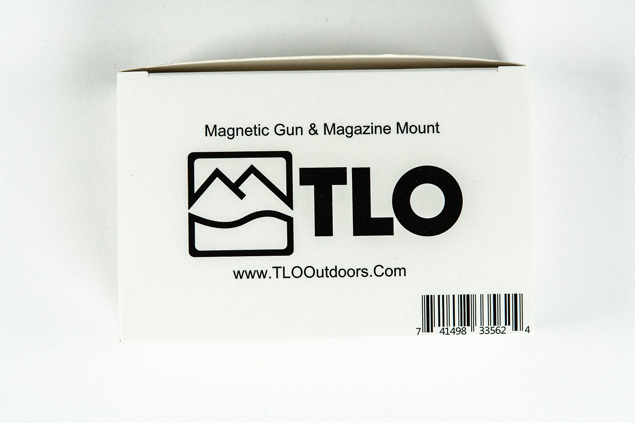 TLO Outdoors GunMag Gun Magnet [2-Pack] - Magnetic Gun Holster Mount for Car, Truck, Home, Office, Gun Safe with Exclusive Safety Cylinder by TLO Outdoors (Image #9)