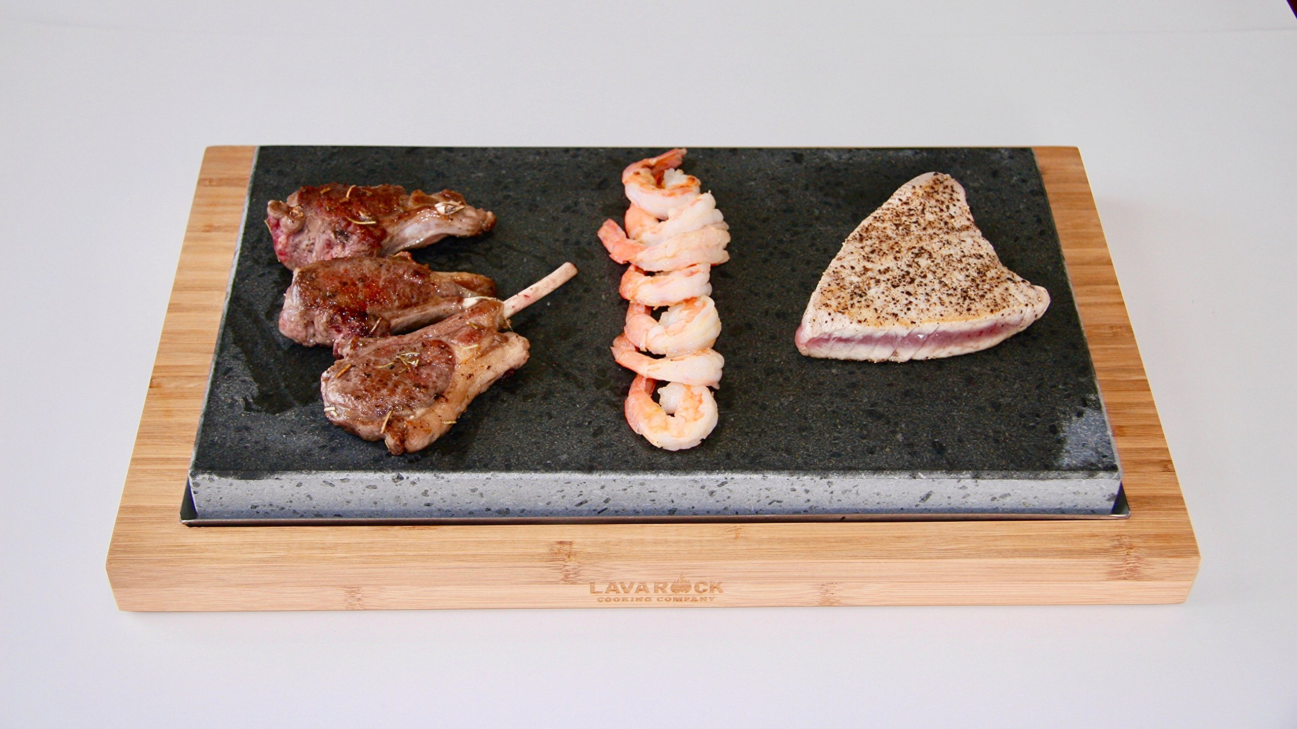 Lava Rock Cooking Sharing Platter LR2