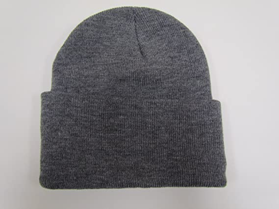 5249584b Amazon.com: Black Friday/ Cyber Monday Deal! 2 Pack Knit Beanies /Gray:  Clothing