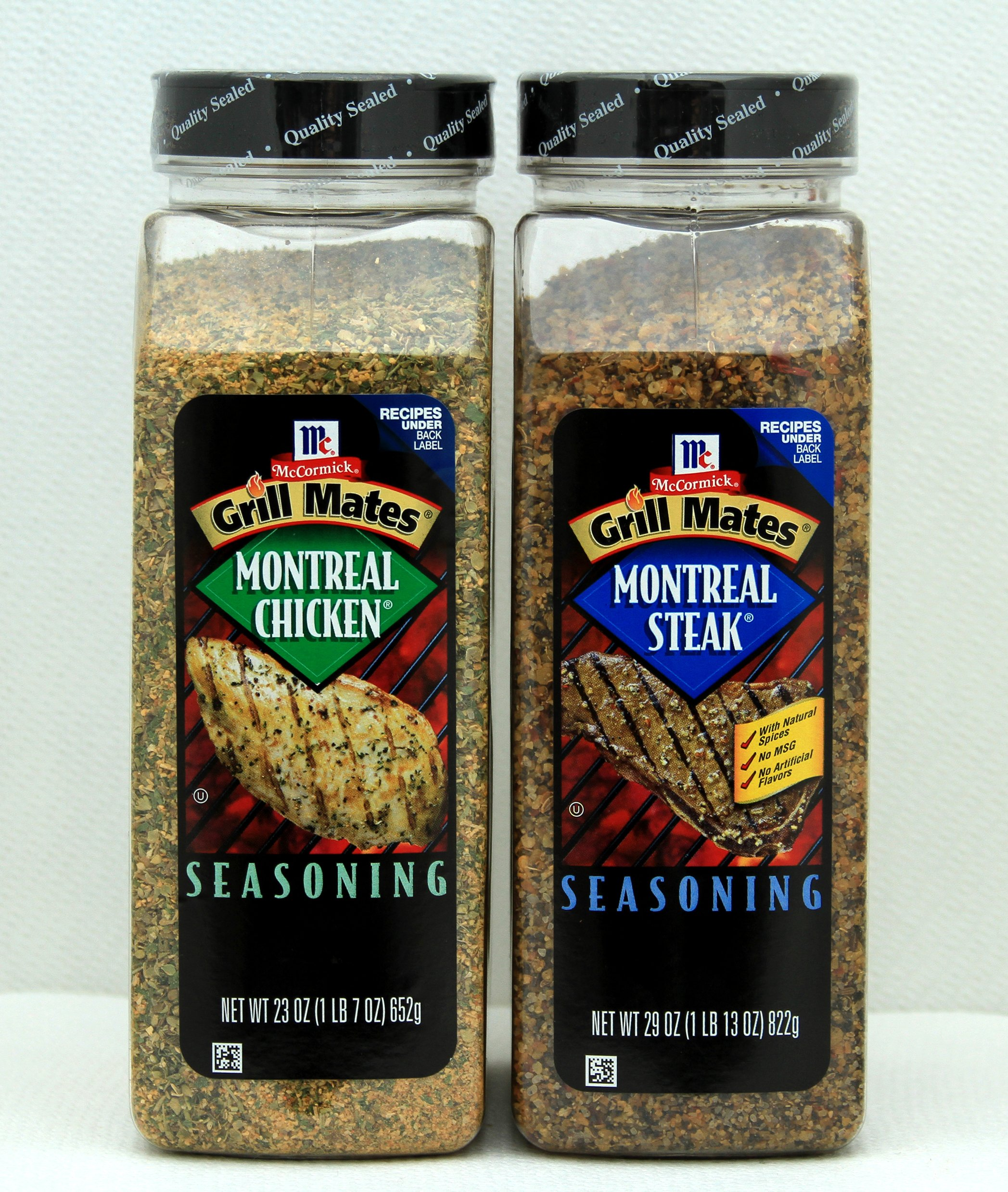 McCormick Grill Mates Seasoning - Montreal chicken & Montreal Steak Pack by McCormick (Image #1)