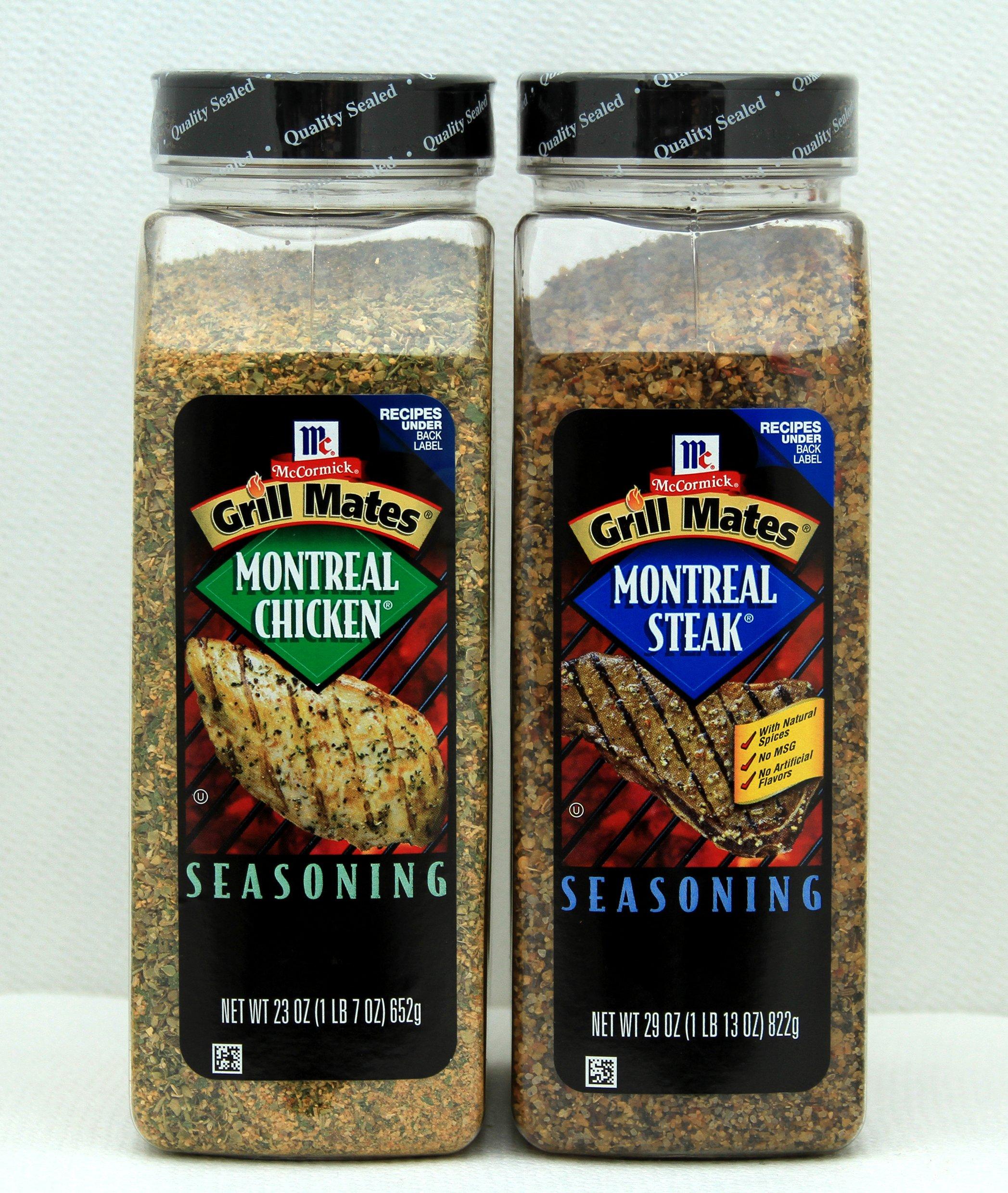 McCormick Grill Mates Seasoning - Montreal chicken & Montreal Steak Pack