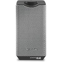 TechniSat AUDIOMASTER MR1 – 30 Watt ELAC WLAN-Lautsprecher mit UPnP Audiostreaming – Multiroom Speaker zum Abspielen von Internetradio, Spotify und Bluetooth