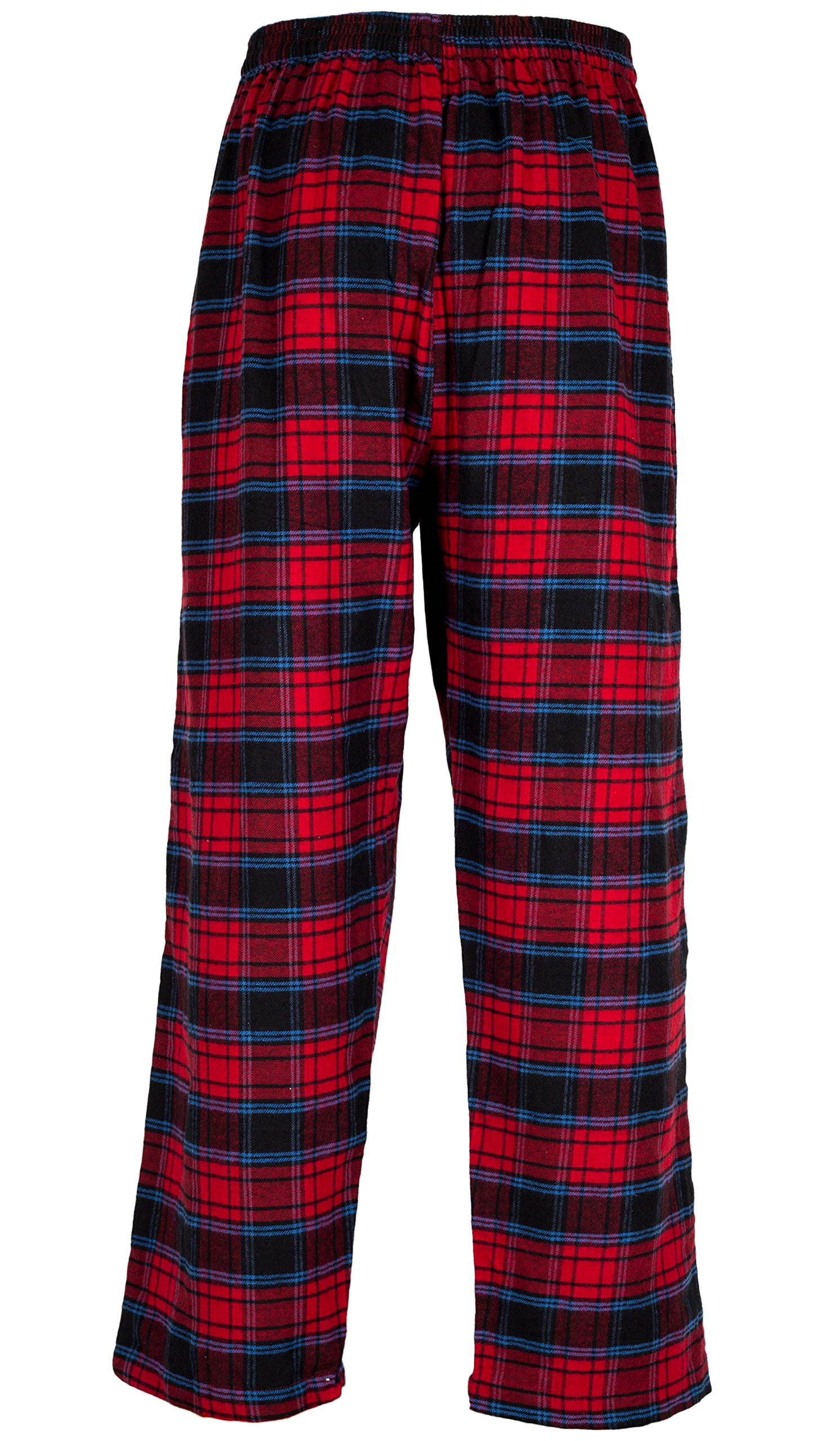 Andrew Scott Men's 3 Pack Cotton Flannel Fleece Brush Pajama Sleep & Lounge Pants (XL/40-42, 3 Pack - Classic Flannel Assorted Plaids) by Andrew Scott (Image #5)