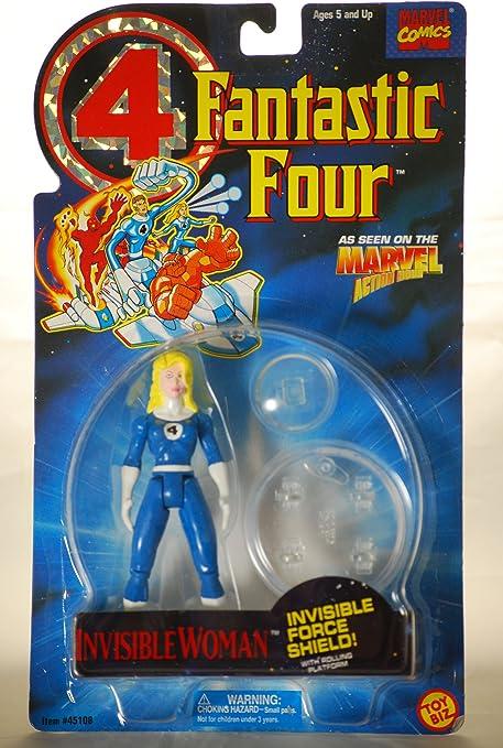 Marvel Superheroes Fantastic Four Invisible Woman ToyBiz 1994