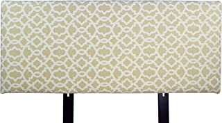product image for MJL Furniture Designs Alice Padded Bedroom Headboard Contemporary Styled Bedroom Décor, Sheffield Series Headboard, Cloud Finish, Eastern King Sized, USA Made