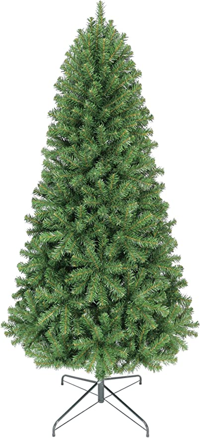 Amazon.com: Oncor 6ft Eco-Friendly Aspen Fir Christmas Tree: Home & Kitchen